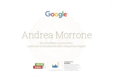 cerificazione google