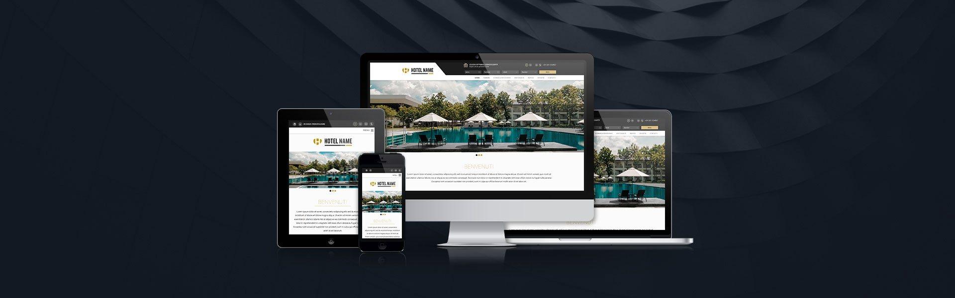 sito web hotel